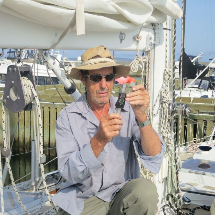 Jerry Veitch, RNYC's boat yard wizard