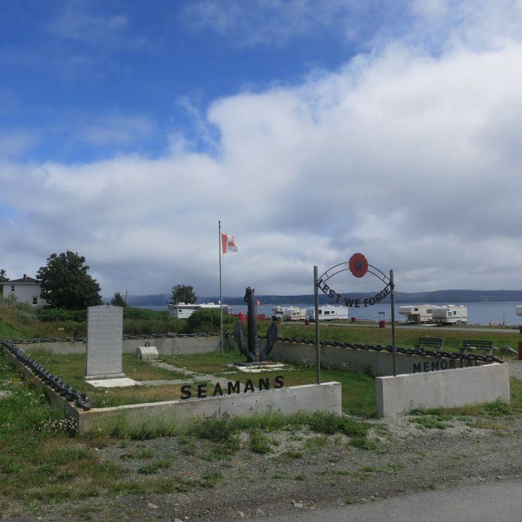 Seaman's Memorial, Lance Cove